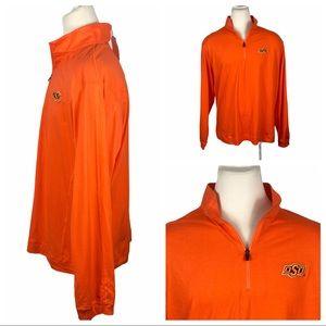 NWT Oklahoma State Orange Pullover XXL